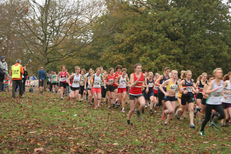 Kent Cross Country League - Dansen Park, Bexleyheath 12 November 2011