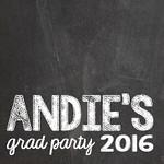 Andie's Grad Party