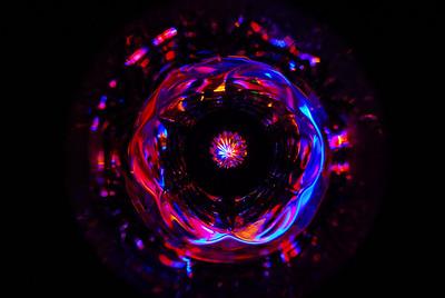 Crystal Tumbler of Light