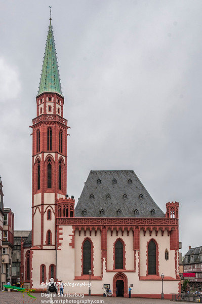 Alte Nikolaikirche Old Nikolai Chirch Romerberg Frankfurt Germany