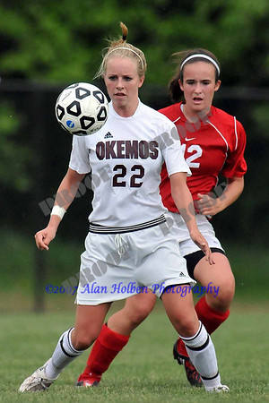 Girls Varsity Soccer - Mason at Okemos - May 20