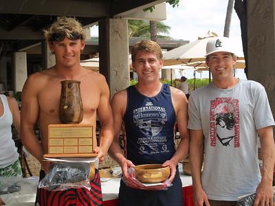 8th Annual Cline Mann Ko'olaupoko Paddleboard Race 7-14-2007