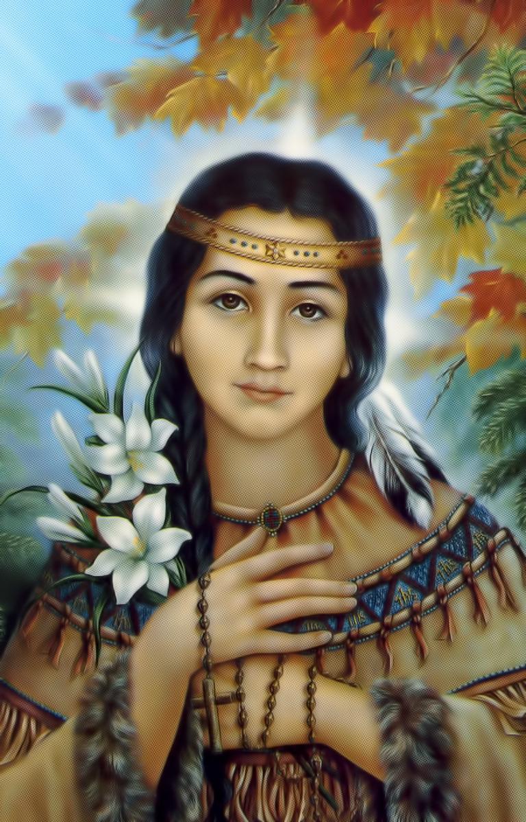 Sainte Kateri Tekakwitha -