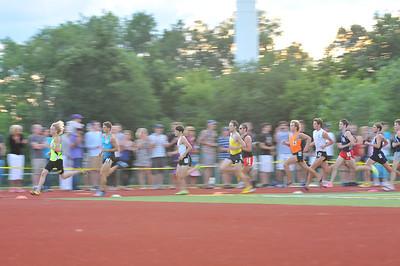 200, 600, 1000, 1400 - 2013 Running Institute Mile