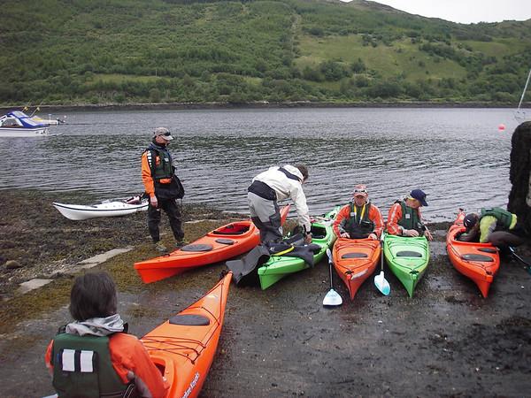 CL/AW Scottish Sea Kayak Trail 5th - 10th June 2011