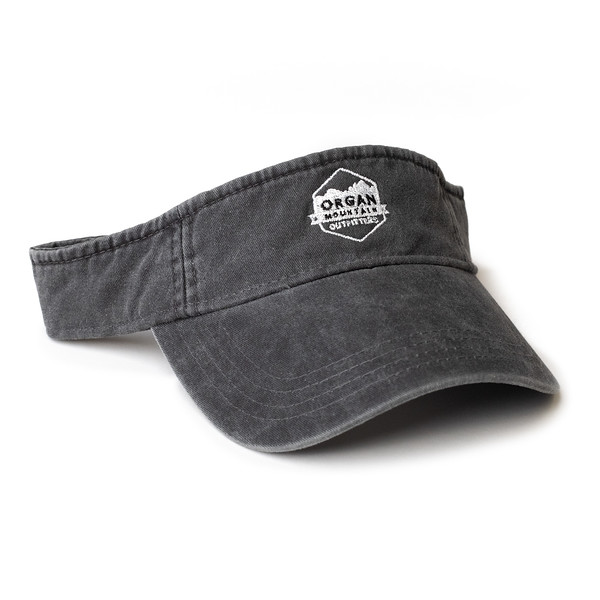 Organ Mountain Outfitters - Outdoor Apparel - Hat - Classic Visor - Vintage Black.jpg