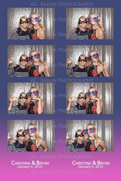Christina + Bryan = Swanky Photobooth