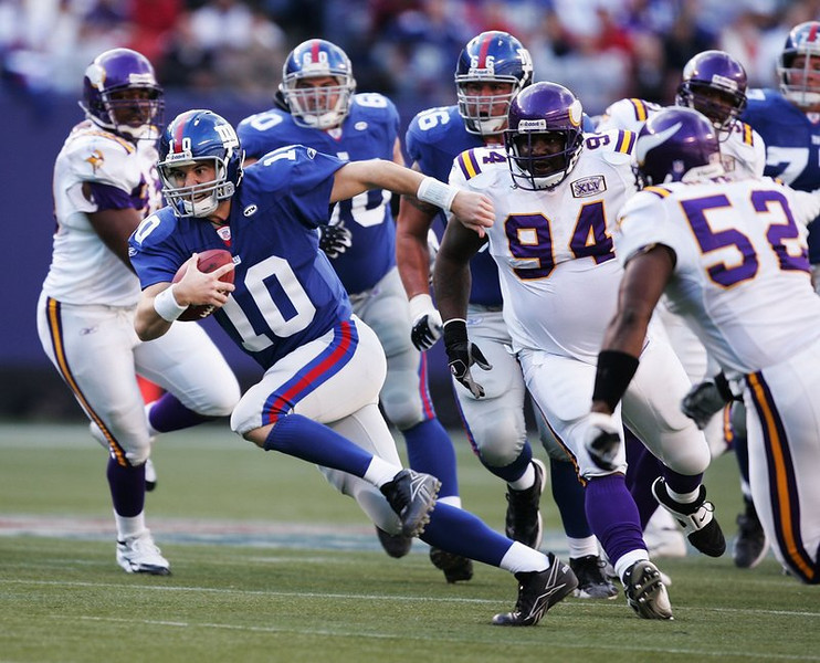 """. <p>1. MINNESOTA VIKINGS & NEW YORK GIANTS <p>Worst Monday night matchup ever, or at least since Rhoda�s wedding. (unranked) <p><b><a href=\'http://www.twincities.com/sports/ci_24339433/vikings-giants-worst-monday-night-football-matchup\' target=\""""_blank\""""> HUH?</a></b> <p>  (Getty Images file photo) <p>OTHERS RECEIVING VOTES <p> Clemson Tigers, tears of blood, LeBron James, Google stock, Miami Heat &  Brooklyn Nets, Andrew Wiggins� shoe deal, Nolan Ryan, Clayton Kershaw, Louisville Cardinals, Rex Ryan, Northwestern Wildcats, Mike Leach, Taste of Minnesota, Ted Cruz, October snow, Rob Gronkowski, Banksy, Prince�s pajama party, Trey Metoyer, Spirit Airlines, Justin Bieber. <p> <br><p> Kevin Cusick talks fantasy football, and whatever else comes up, with Bob Sansevere and �The Superstar� Mike Morris on Thursdays on Sports Radio 105 The Ticket. Follow him at <a href=\'http://twitter.com/theloopnow\'>twitter.com/theloopnow</a>."""