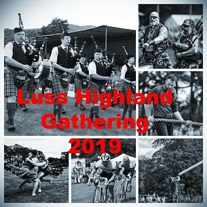 The 2019 Luss Highland Gathering