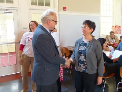Parents' Committee Faculty Appreciation Tea