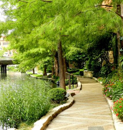 10-15-12 The beginning of an adventure along the San Antonio  River Walk Hotel.