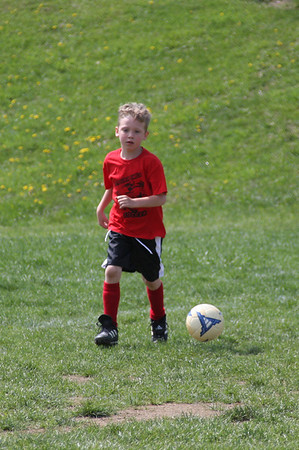 Coach Ben Studer*#10-RED* 6/7 Yrs Old