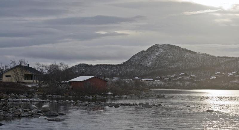 Houses at Kilpisjärvi
