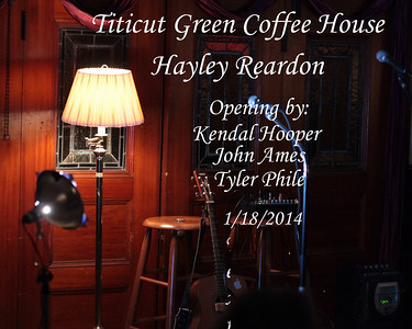 Hayley Readon at Titicut Green Coffee House 1/18/14