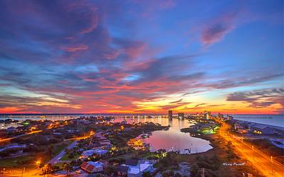 Pensacola Beach Sunrises