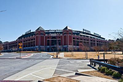 The Ballpark In Arlington. Home of the Texas Rangers