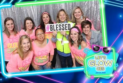 20200124 CES Glow Party