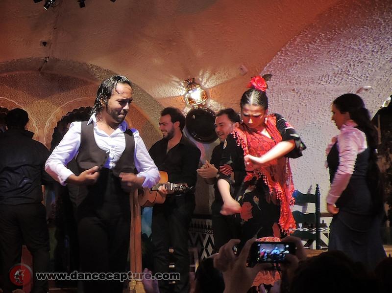 Flamenco in Spain, April 2014  - Tablao Flamenco Cordobes Barcelona