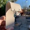 4.20ctw Blue Zircon Dangle Earrings 8