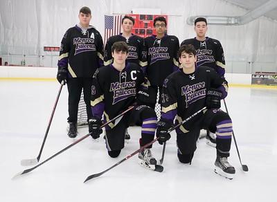 Feb. 3, 2020 Ice Hockey Team shots and individual pics