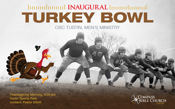 Inaugural  Turkey Bowl