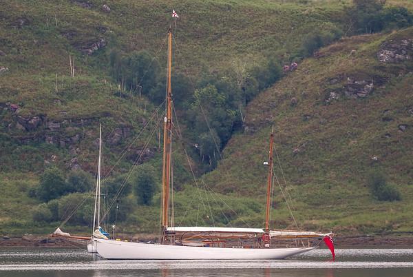 Fife classic yacht Kentra
