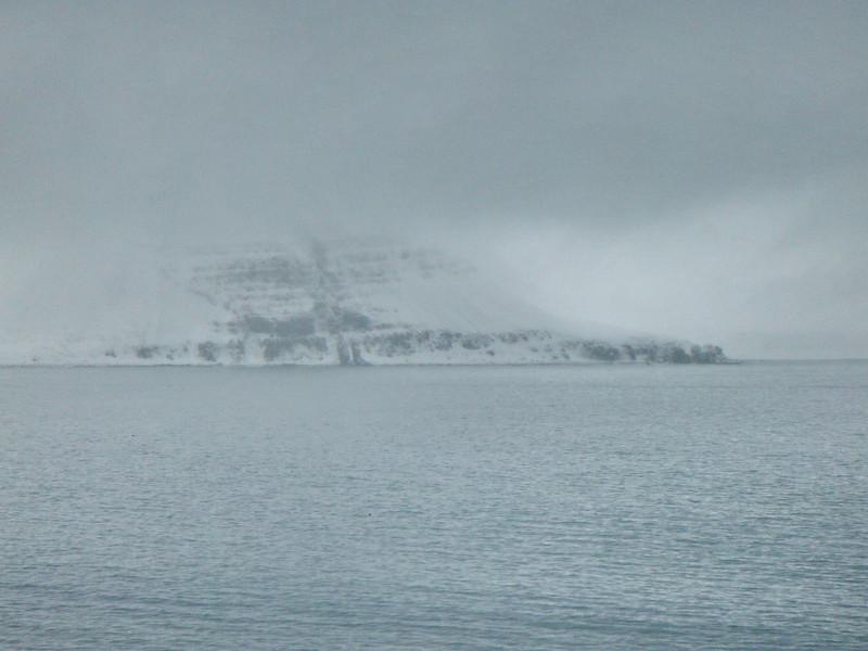 Horft yfir Hornvíkina