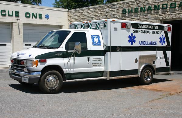 Rescue Company 1 - Shenandoah Rescue Squad