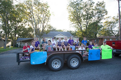 Shiner High Homecoming Parade & Pep Rally 10-9-17