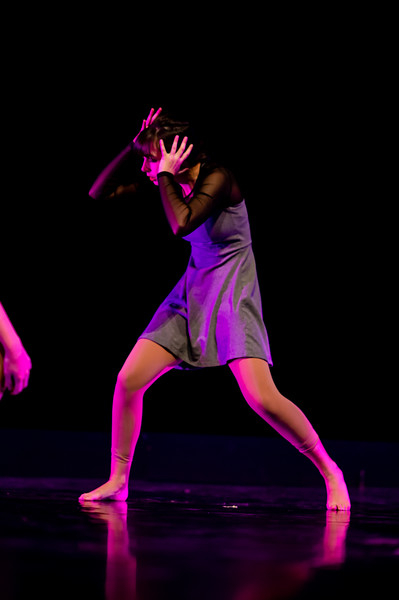 """""""Lucid,"""" choreographed by Brandon Besse, was performed in the fall 2018 Island Dance Demo."""