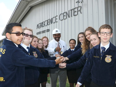 Ag Students get the Keys to the Ag Science Center