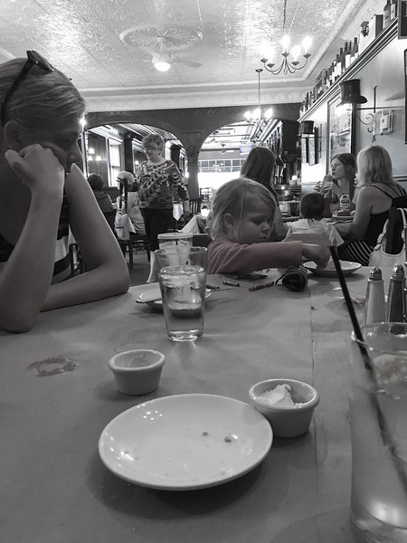 We had lunch at City Park Cafe - Hemingway wasn't there...