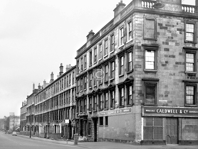 Abbotsford Place, east side, north of Cumberland St.    April 1973
