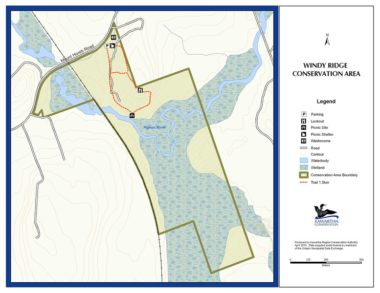 Windy Ridge Conservation Area Map