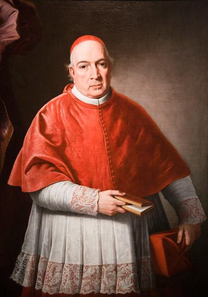 Cardinal Don Diego de Astorga y Cespedes, portrait by Alonso Miguel Tovar (18th century), Fine Arts Museum, Seville, Spain