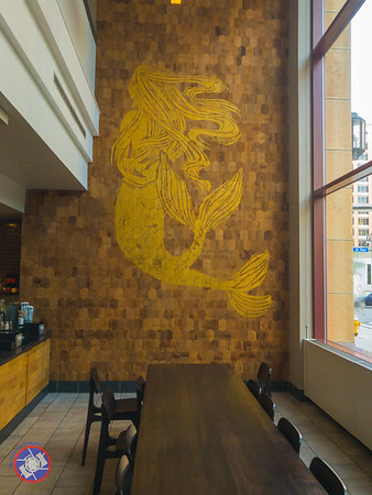 A Mural in the Starbucks Attached to the Hyatt Regency Rochester (©simon@myeclecticimages.com)