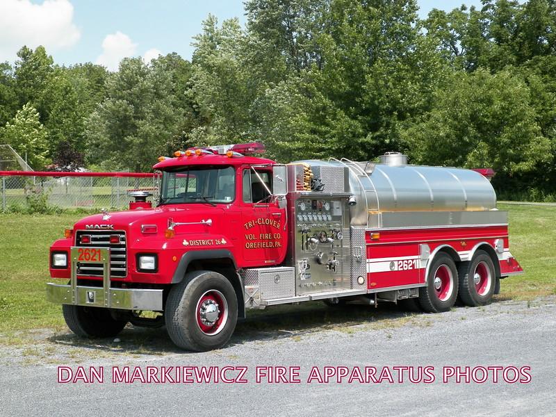 TRI-CLOVER FIRE CO. OREFIELD