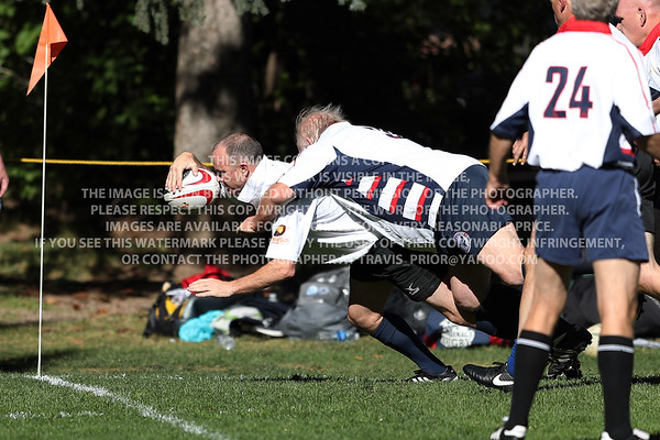 2017 Over 45's Division Santa Monica Rugby Club Men Aspen Ruggerfest 50