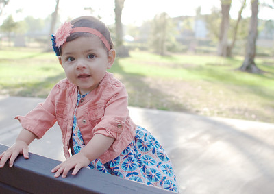 Baby Claire {9 Months!}