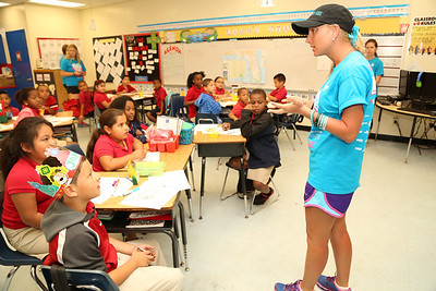 """03-18-14 """"Walk In My Shoes"""" Safer, Smarter Kids Curriculum at Irving and Beatrice Pescoe K-8 Center by Omar Vega"""