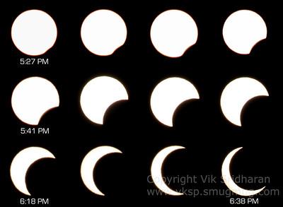 Annular Solar Eclipse - May 20, 2012