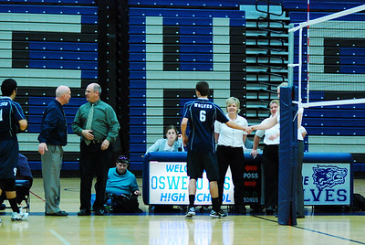 Volleyball Oswego east Vs Benet