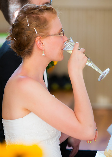 Bride drinking to toast.jpg