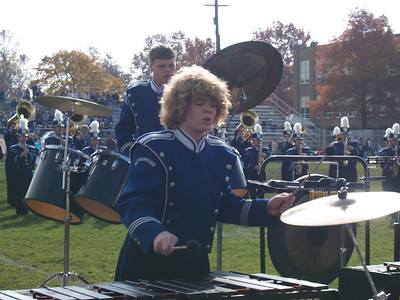 QCHS Marching Band '07; Thanksgiving Day Game