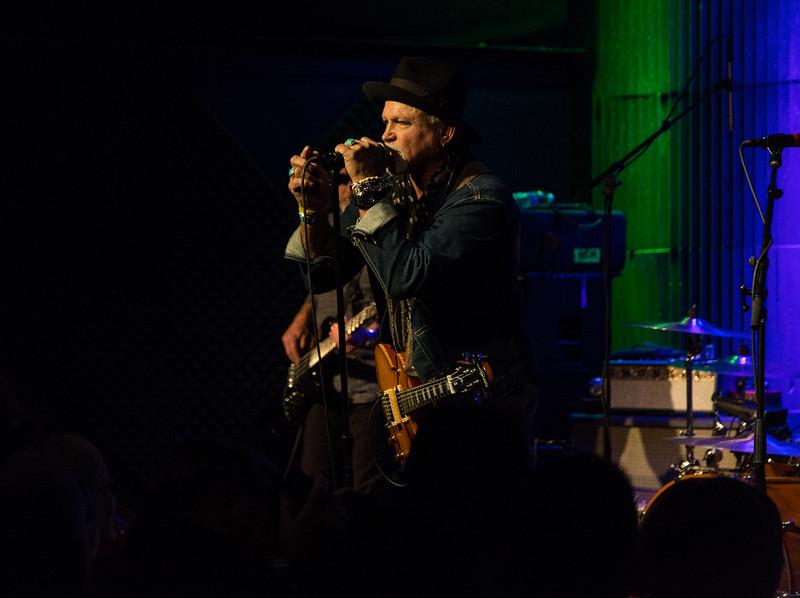 Derek St. Holmes performs live