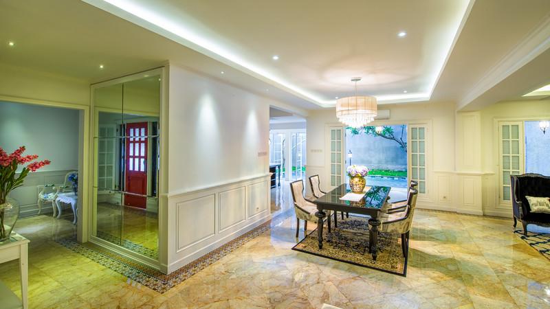 Dukuh Patra Entrance Living Room Kitchen