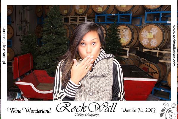Rockwall Winery, Wine Wonderland! 12.7.13