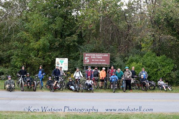 2017-09-30 EAS  @ Two Top Mountain Adaptive Bike Ride