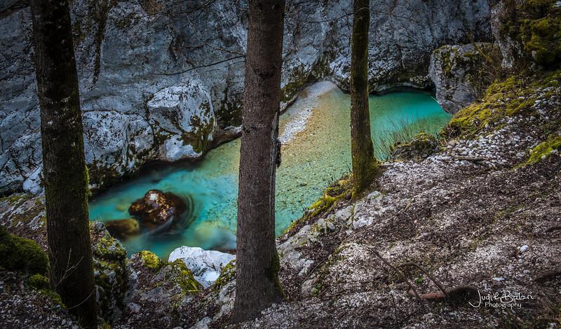Socca River, Bovec, Slovenia