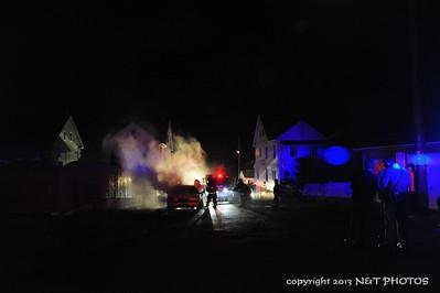 Car Fire - Ridge St. West Hazleton 11-22-13